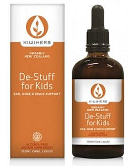 Kiwiherb Organic De-Stuff For Kids
