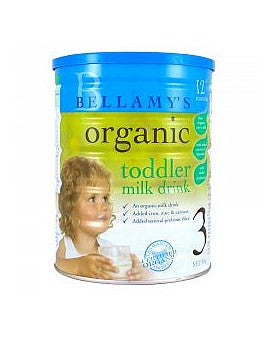 Bellamys Step 3 Organic Dairy Toddler Milk 12+ Months (NZ Only)