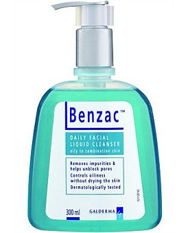 Benzac Daily Facial Liquid Cleaner