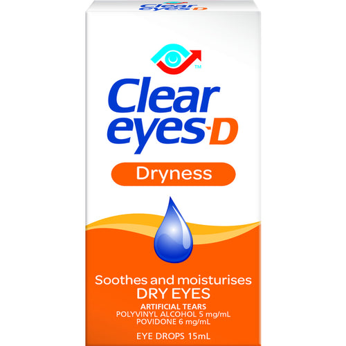 Clear Eyes D Dryness Drops