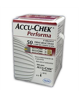 Accuchek Performa Blood Glucose Test Strips