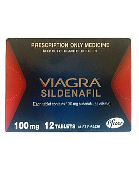 Viagra 100mg Tablets (NZ Only)