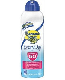 Banana Boat Everyday Clear Spray SPF50+