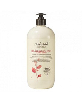 Natural Instinct Relaxing Lavender & Rosehip Body Wash