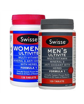Swisse Mens + Womens Ultivite