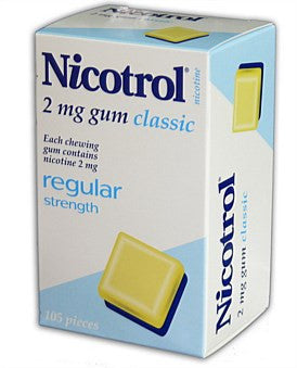 Nicotrol Chewing Gum 2mg Classic