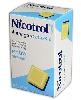 Nicotrol Chewing Gum 4mg Classic