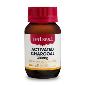 Red Seal Activated Charcoal 300mg