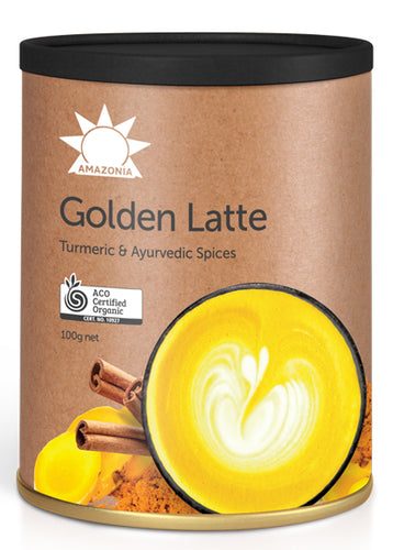 Amazonia Raw Golden Latte