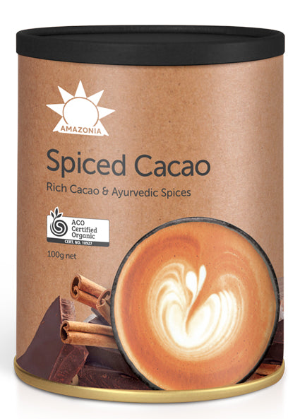 Amazonia Raw Spiced Cacao Latte