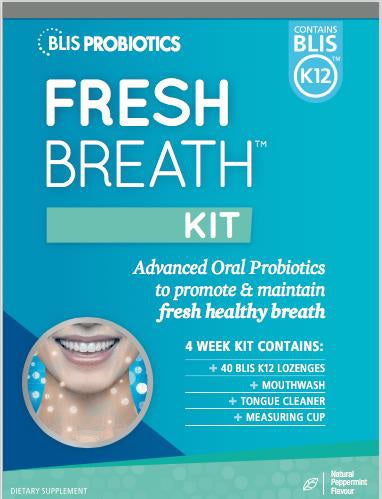Blis FreshBreath Kit with BLIS K12™