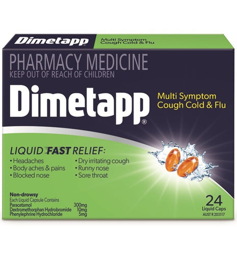 Dimetapp Multi Symptom Cough Cold & Flu Liquid