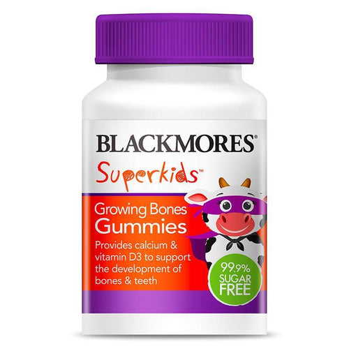 Blackmores Superkids Growing Bones Gummies