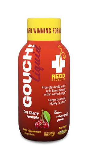 Redd Remedies Gouch Liquid - Tart Cherry Formula - EXP12/2018