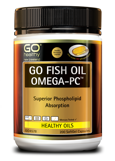 GO Healthy Go Fish Oil Omega PC