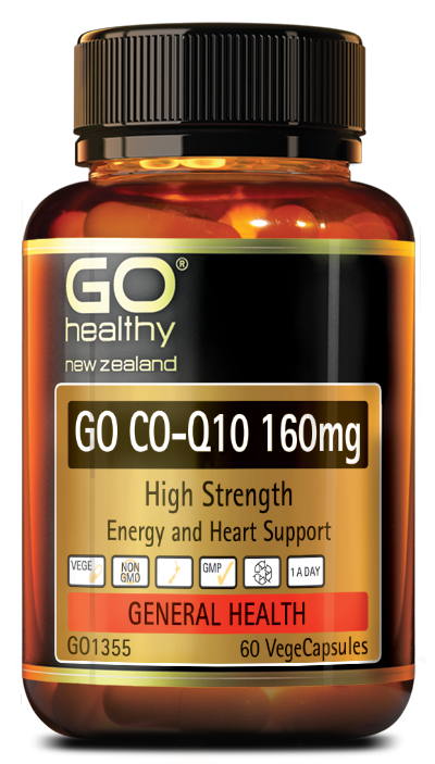 GO Healthy Go Co-Q10 160mg High Strength