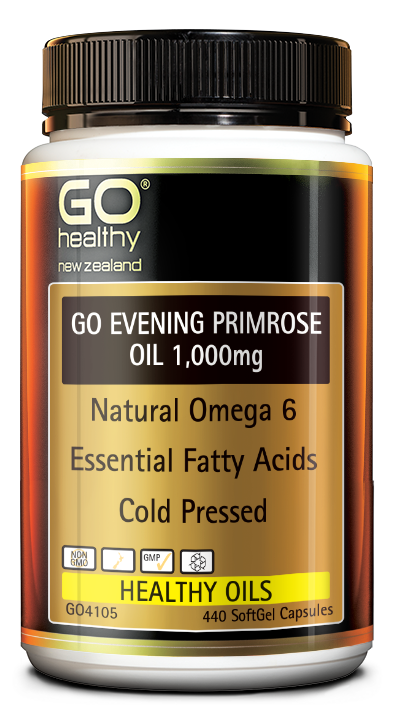 GO Healthy Go Evening Primrose Oil 1,000mg