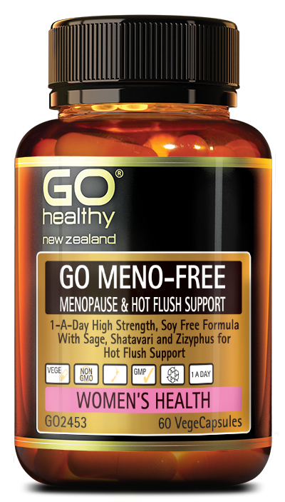 GO Healthy Go Meno Free Menopause & Hot Flush Support