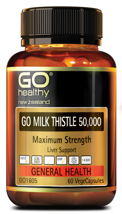 GO Healthy Go Milk Thistle 50,000