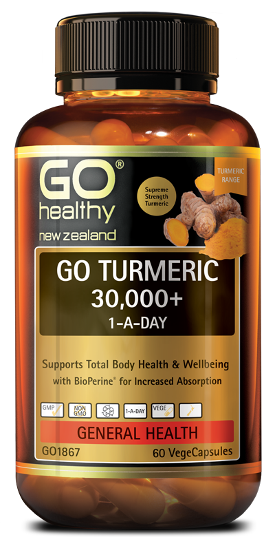 GO Healthy Go Turmeric 30,000+ 1-A-Day