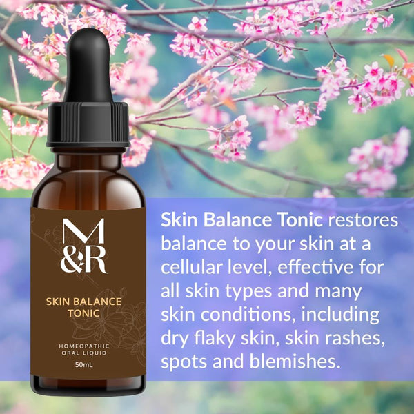 M&R Essentials Skin Balance Tonic - Infused with Bach Flowers