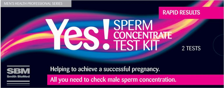 SBM Yes! Sperm Concentrate Test Kit