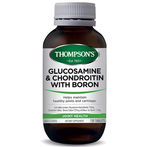 Thompsons Glucosamine and Chondroitin with Boron