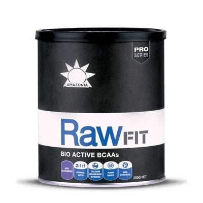 Amazonia RawFit Bio-Active BCAAs Açaí Blackberry Flavour -Only available for PREORDER. Stock arrive in 4 weeks