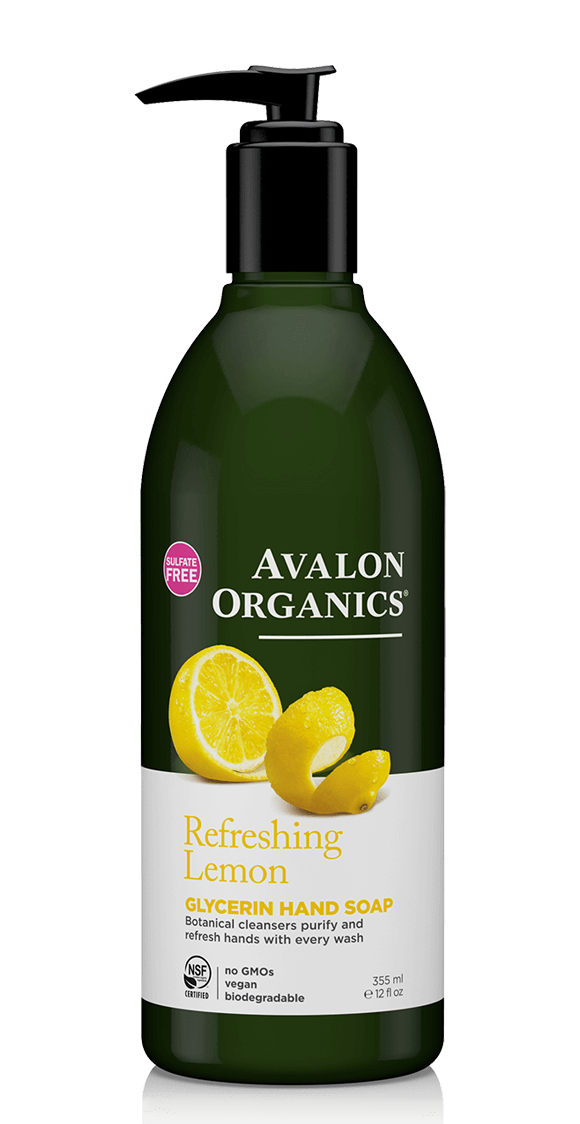 Avalon Organics Lemon Glycerin Hand Soap
