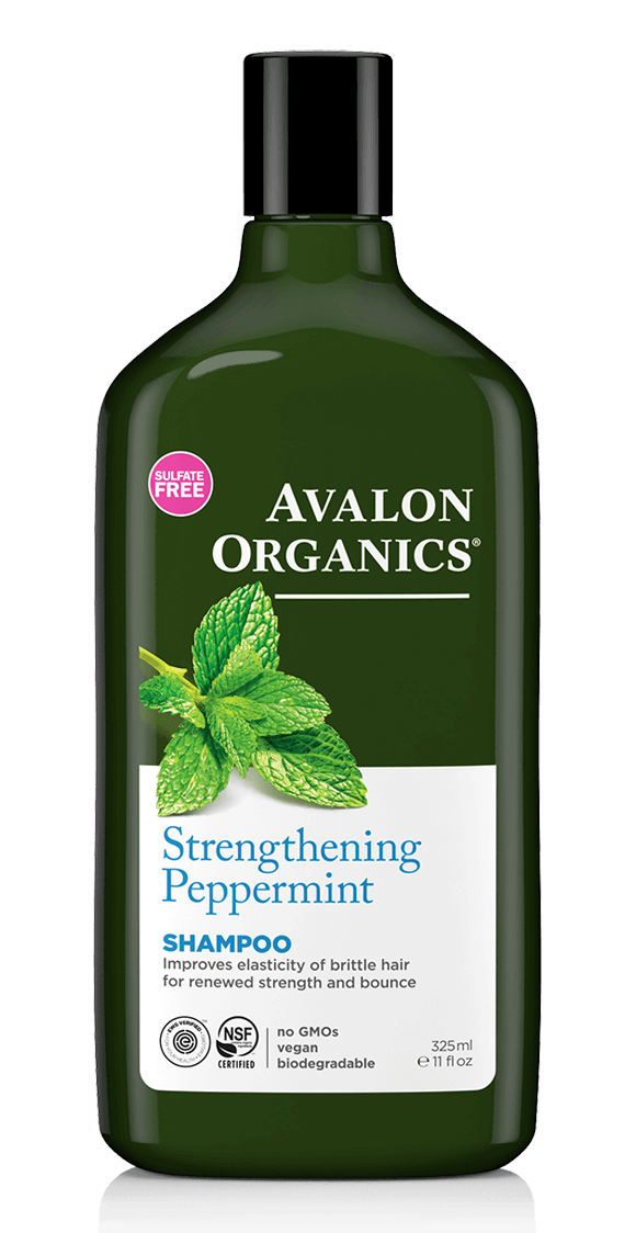 Avalon Organics Peppermint Strengthening Hair Shampoo