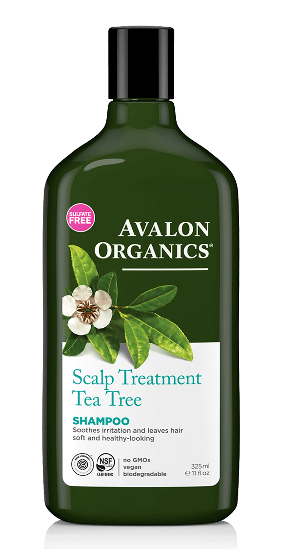 Avalon Organics Tea Tree Scalp Treatment Hair Shampoo