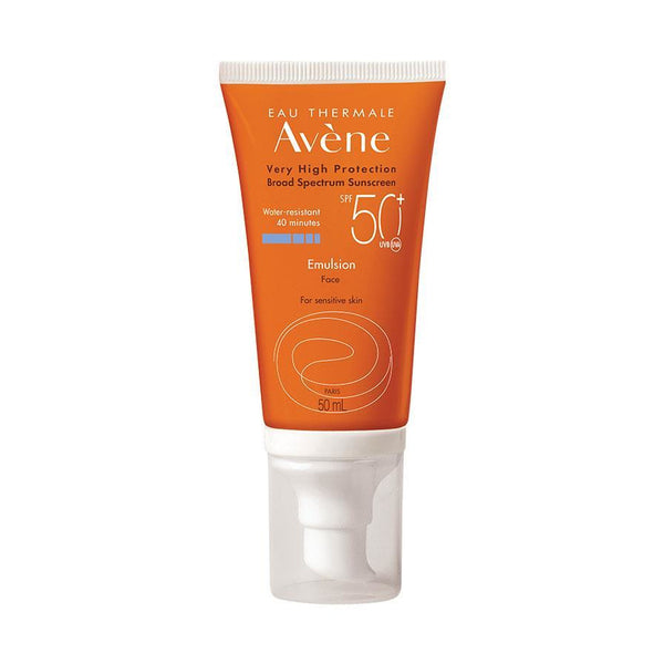 Avene Broad Spectrum Sunscreen SPF 50+ Emulsion