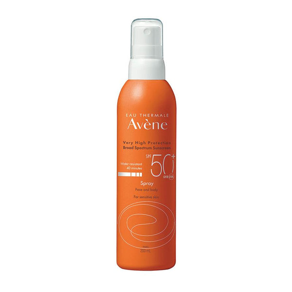 Avene Broad Spectrum Sunscreen SPF 50+ Spray