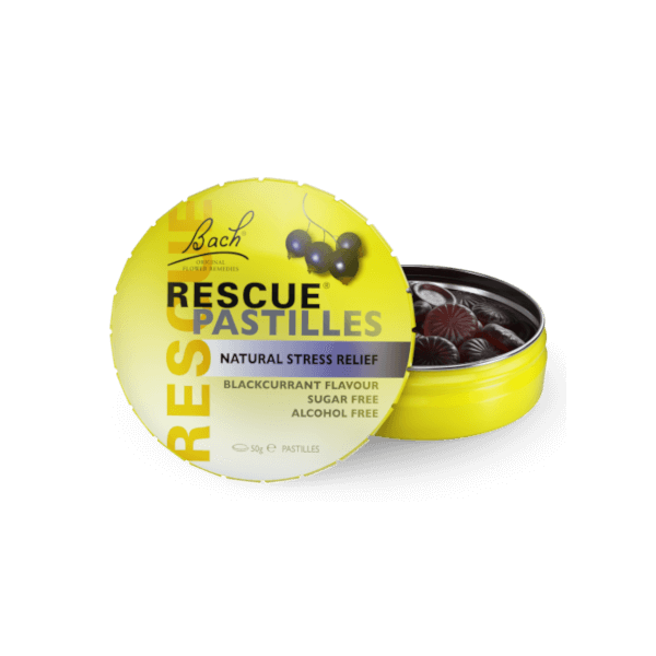 Bach Rescue Remedy Pastilles Blackcurrant