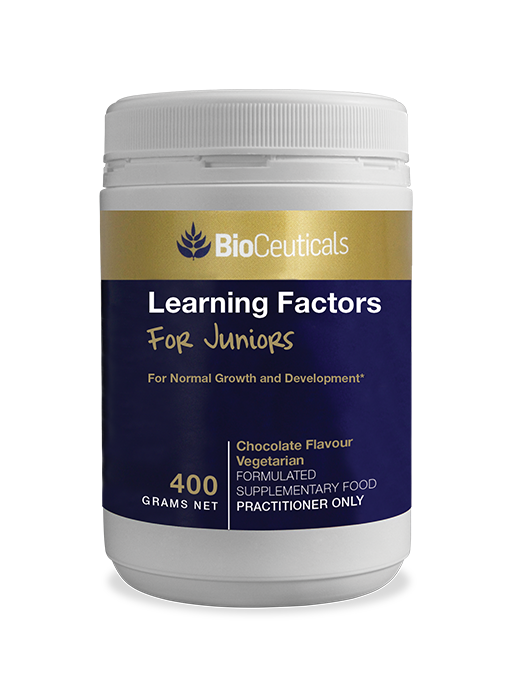 Bioceuticals Learning Factors For Juniors Chocolate
