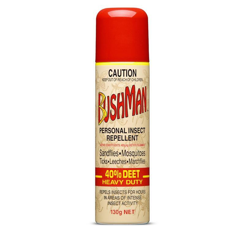 Bushman Heavy Duty 40% DEET Insect Repellent Aerosol