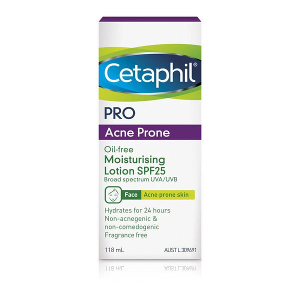 Cetaphil Pro Acne Prone Oil-free Facial Moisturising Lotion SPF25