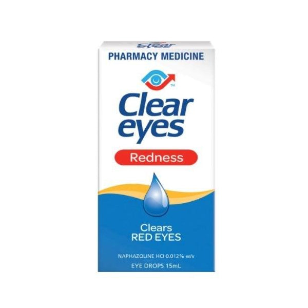Clear Eyes Redness Eye Drops