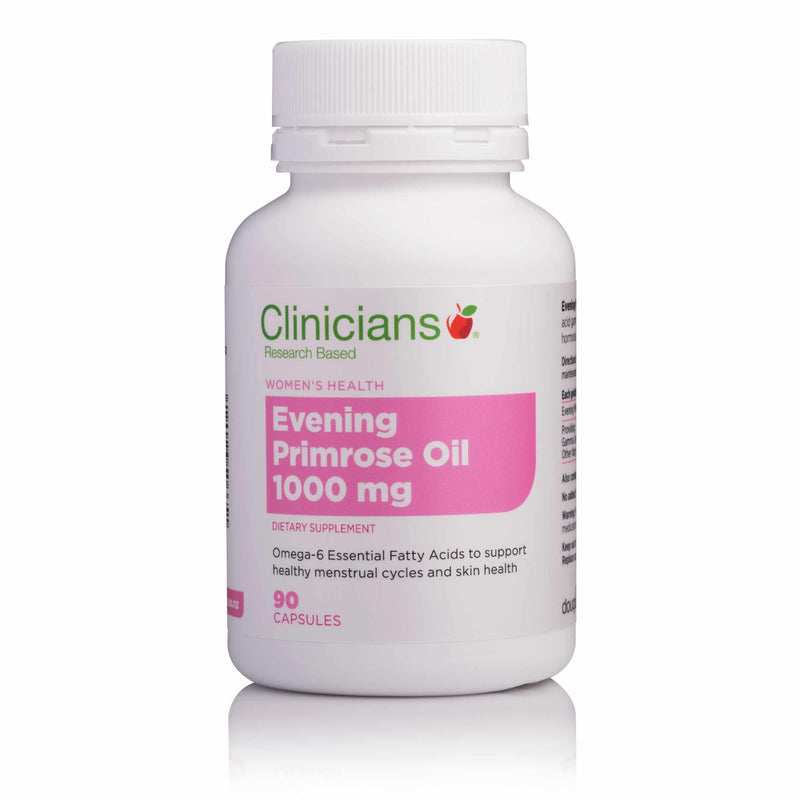 Clinicians Evening Primrose Oil 1000mg