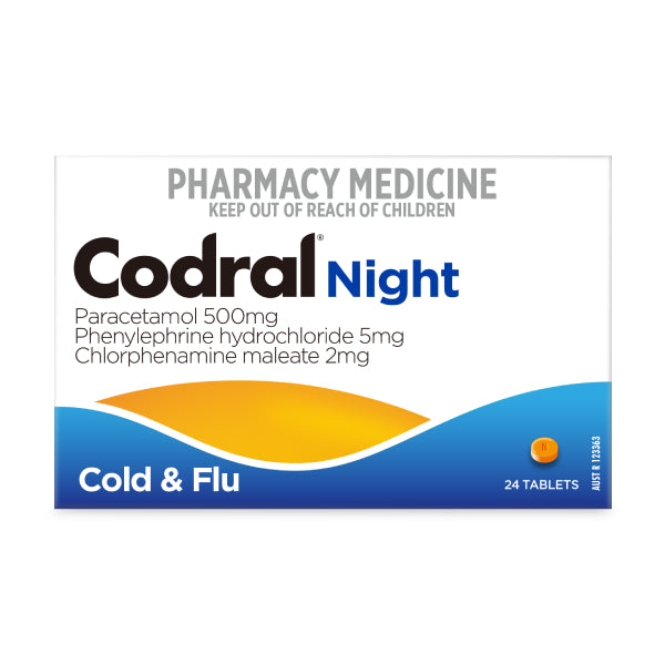 Codral Night Cold & Flu