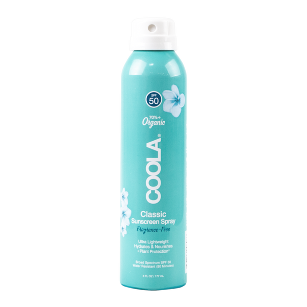 Coola Classic Sunscreen Spray SPF 50 Fragrance-Free