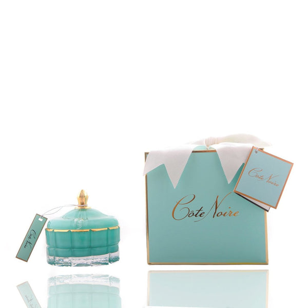 Cote Noire Art Deco Candle - Tiffany Blue