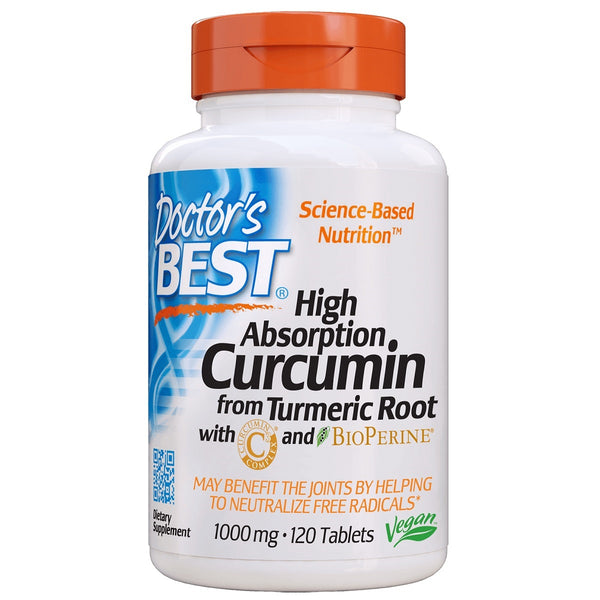 Doctor's Best High Absorption Curcumin C³ with BioPerine 1000mg