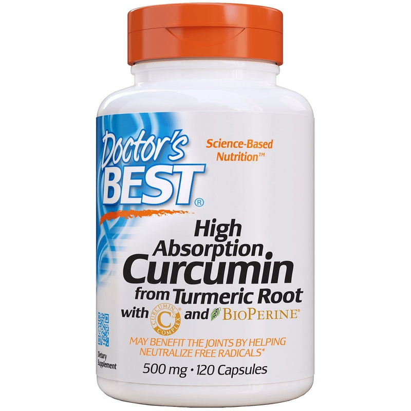 Doctor's Best High Absorption Curcumin C³ with BioPerine 500mg
