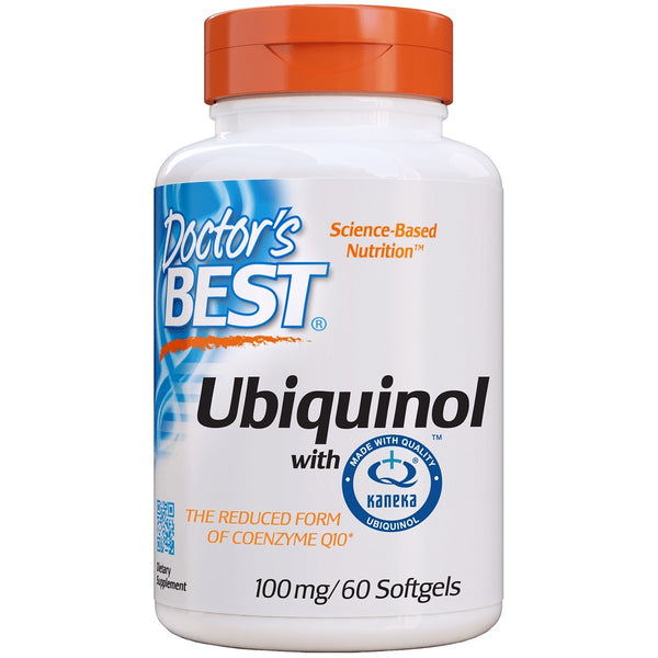 Doctor's Best Ubiquinol with Kaneka QH 100mg