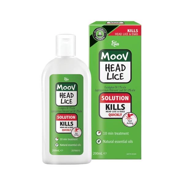Ego MOOV Head Lice Solution