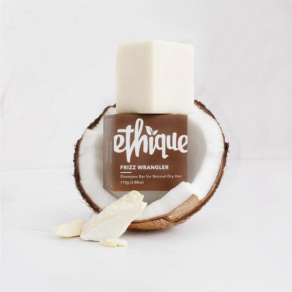 Ethique Frizz Wrangler Shampoo Bar for Normal-Dry Hair