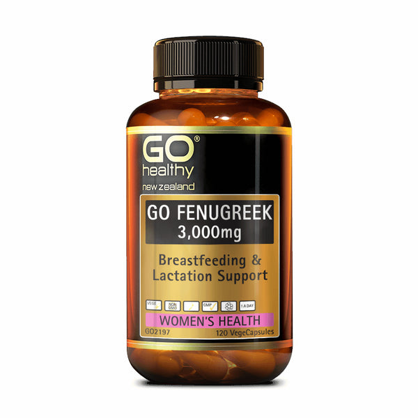 Go Healthy GO Fenugreek 3,000mg
