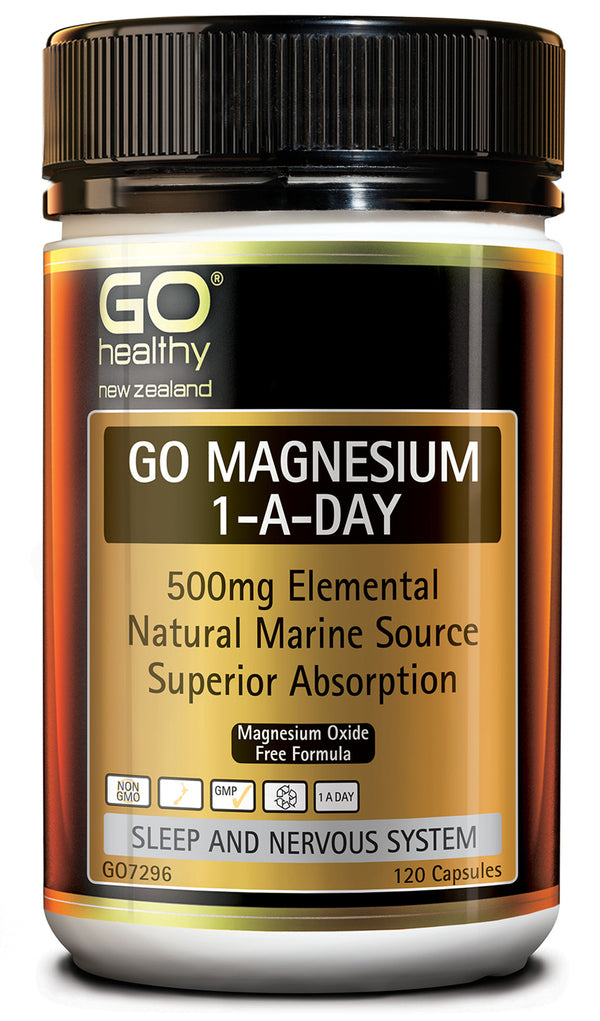 GO Healthy Go Magnesium 1-A-Day