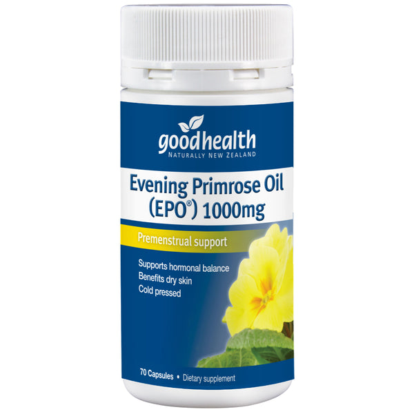 Good Health Evening Primrose Oil (EPO) 1000mg